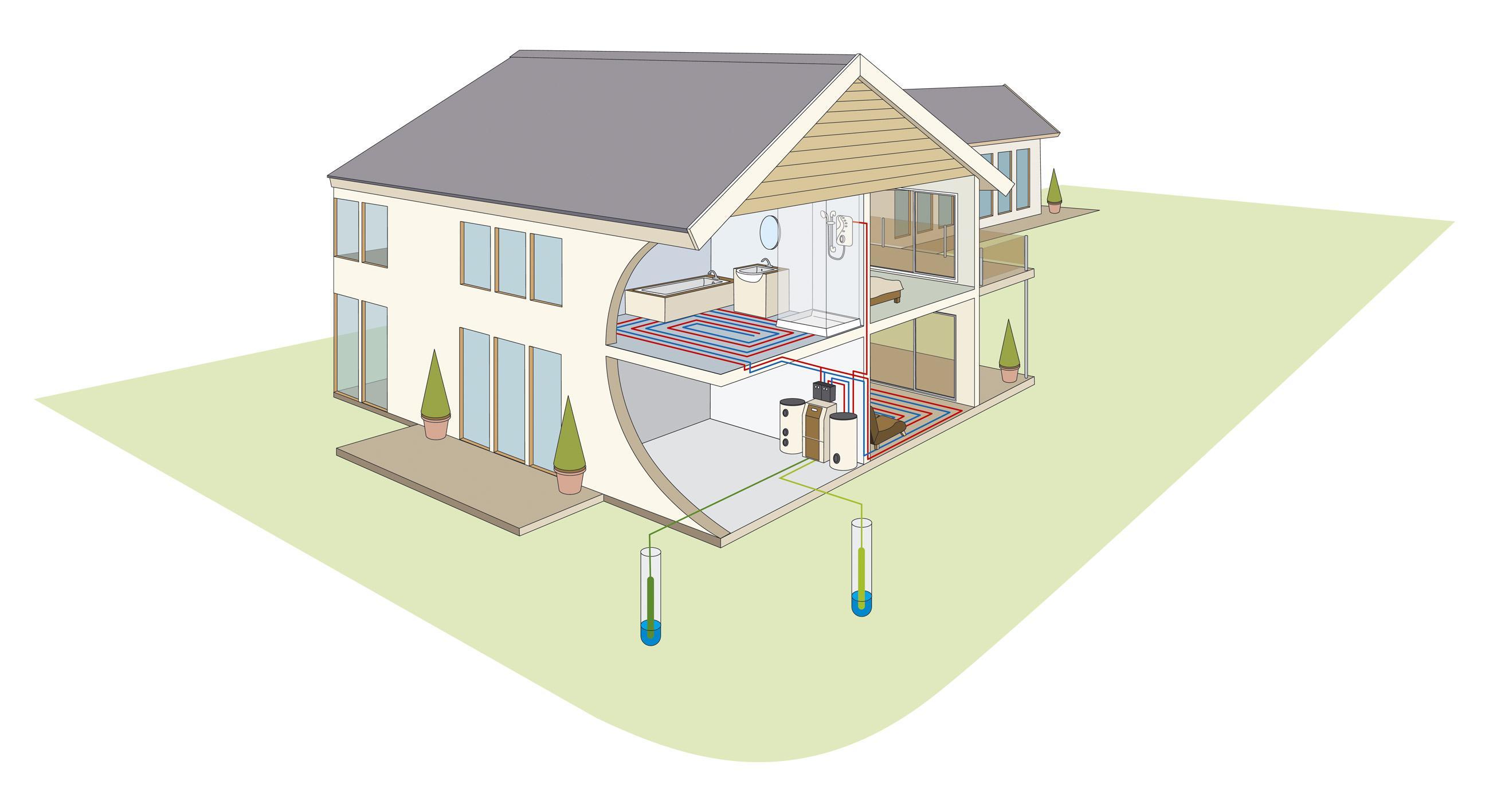 Table Air Energy Heat Pump Wiring Diagram Schematic Dimplex House Open Loop