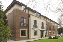commercial ashp care home 25kW pic1