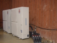 Mitsubishi air source heat pumps Yorkshire care home